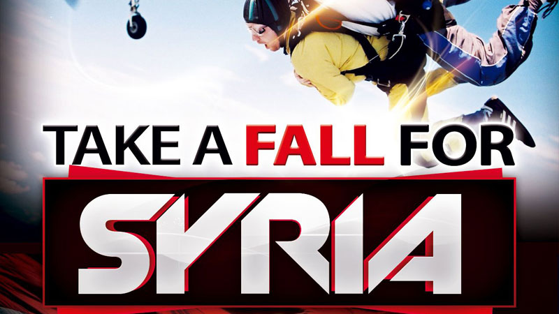 Take a fall for Syria