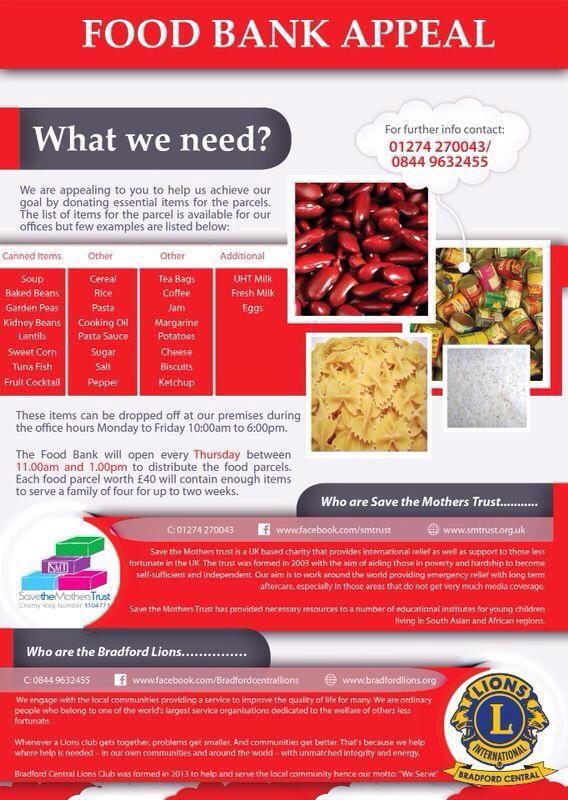 food bank uk poster