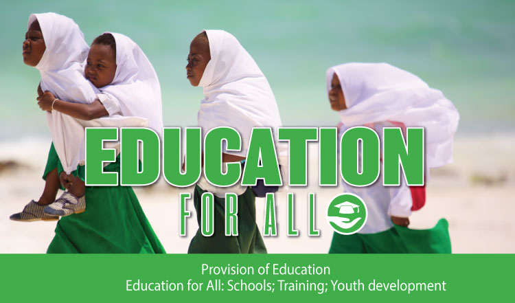 Education for ALL helping children around the world