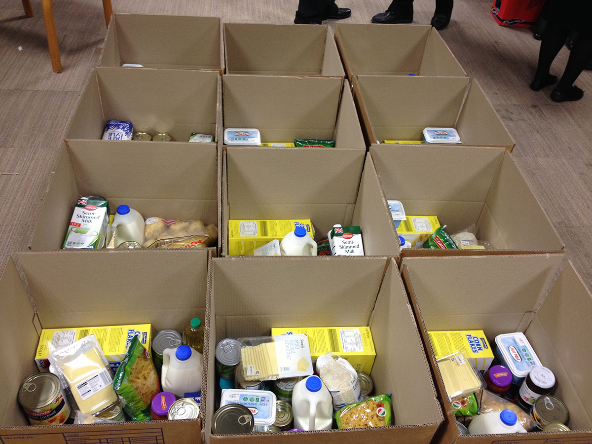 food bank collections